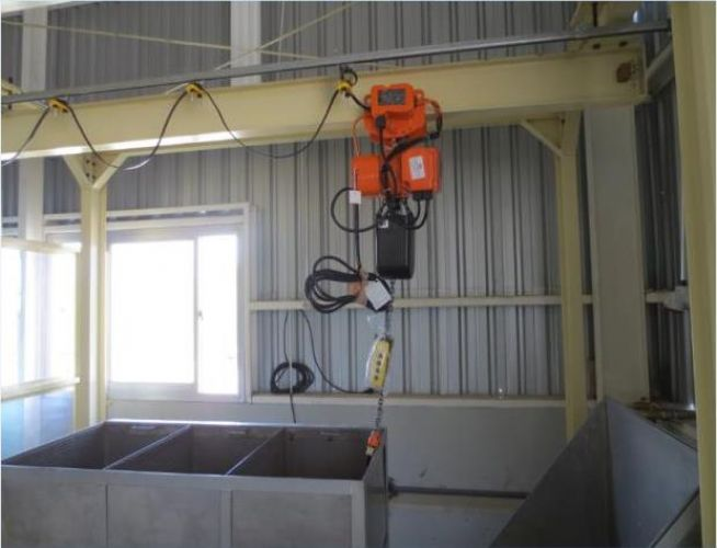 INSTALLATION ELECTRIC HOIST